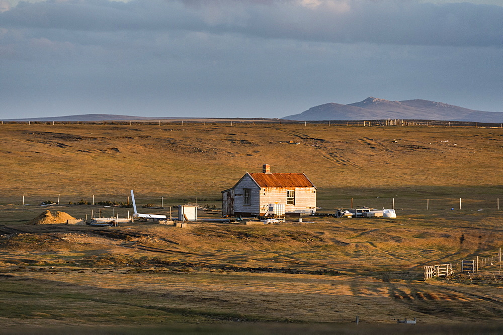 Farm building, Falkland Islands, South America