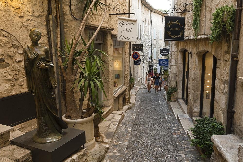 Saint-Paul de Vence, Cote d'Azur, Alpes Maritimes, Provence, France, Europe