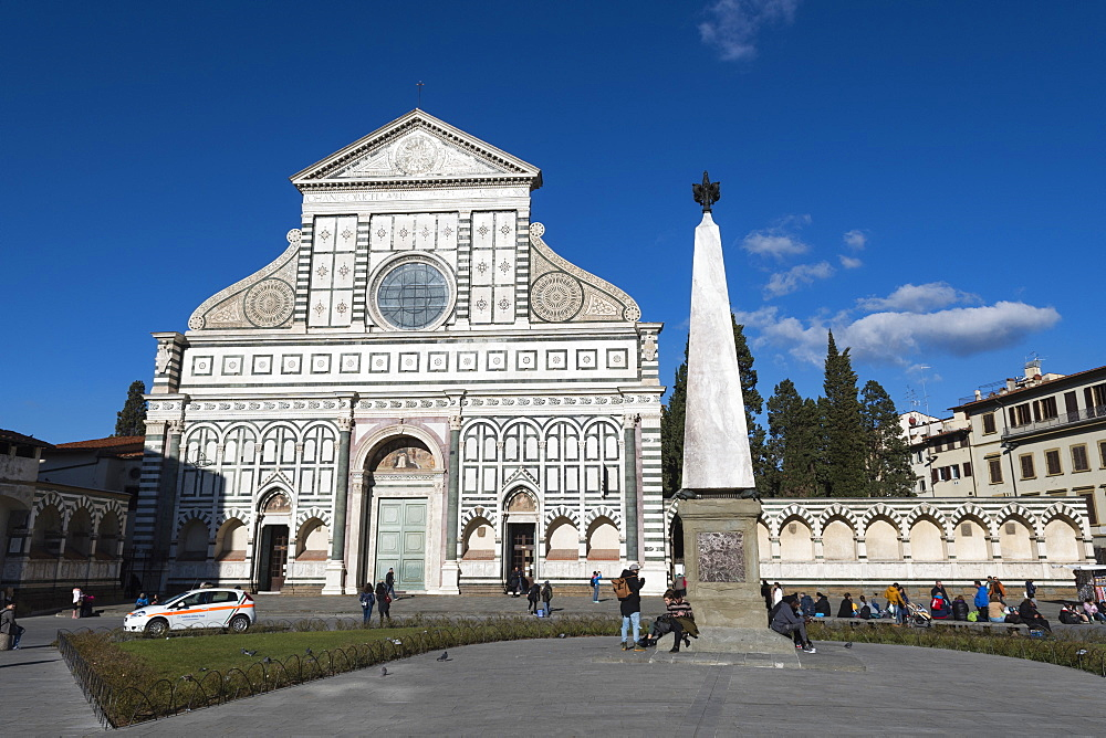 The Church of Santa Maria Novella, Florence, Tuscany, Italy, Europe