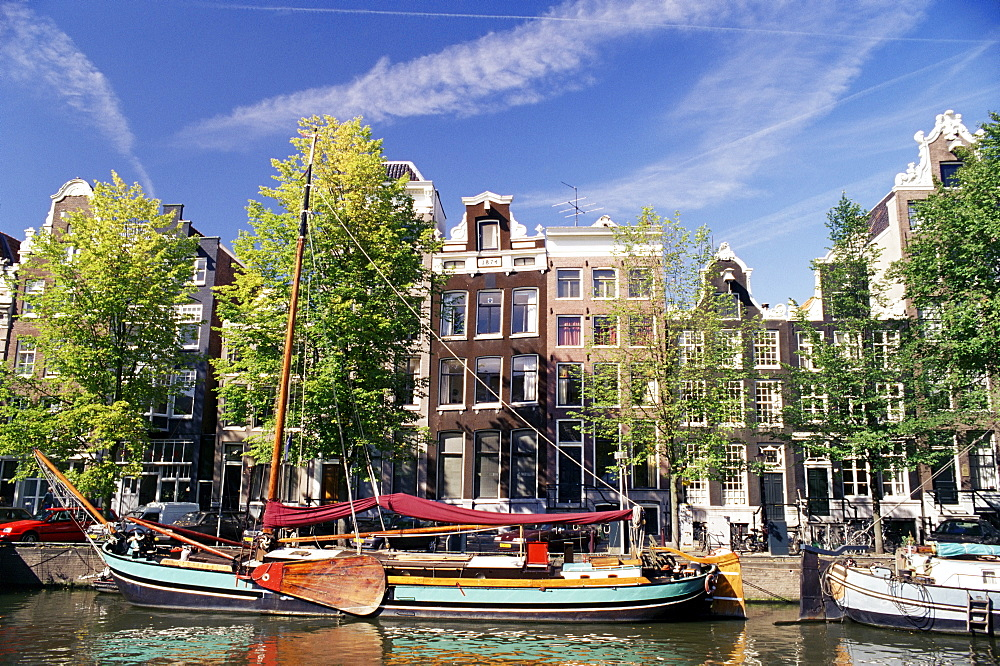 Keizersgracht, Amsterdam, The Netherlands (Holland), Europe