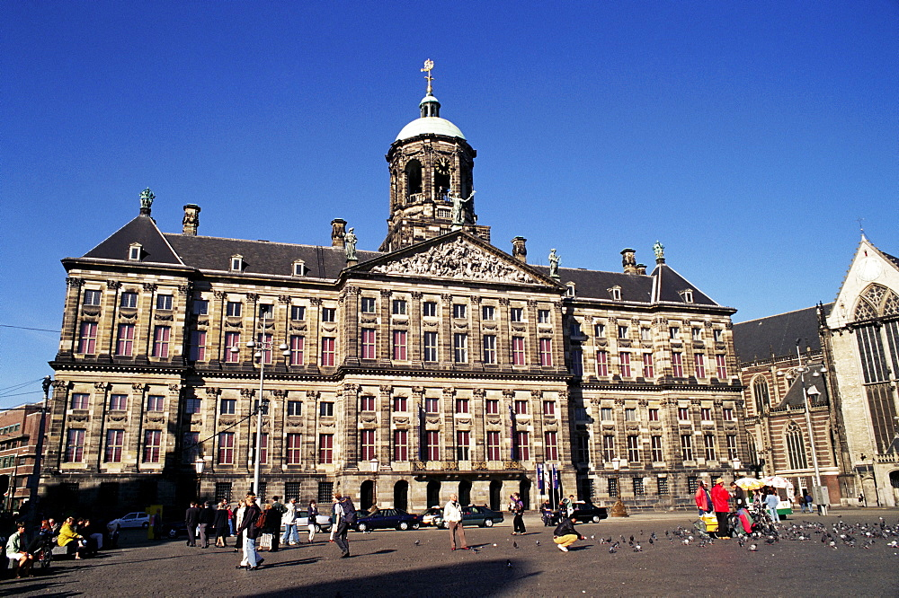 Royal Palace, Dam, Amsterdam, The Netherlands (Holland), Europe