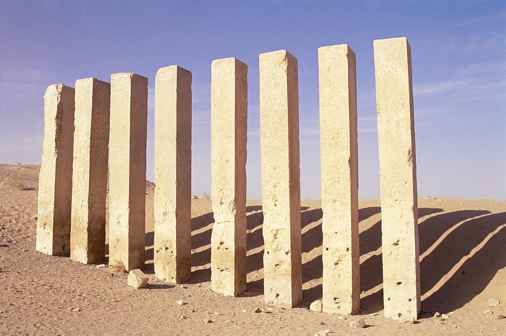 Awwam temple, Ma'rib, Republic of Yemen, Middle East