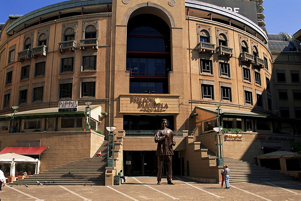 Mandela Square, Sandton district, Johannesburg, South Africa