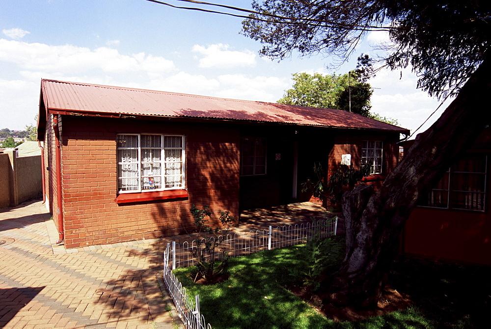 Nelson Mandela's house, Soweto, Johannesburg, South Africa