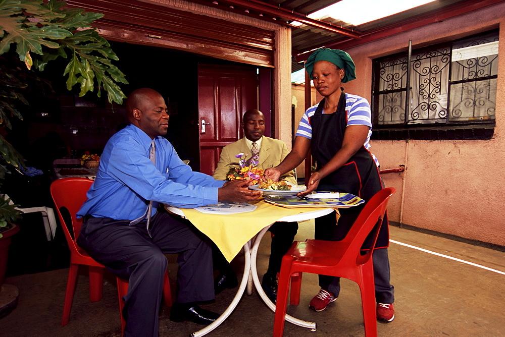 Restaurant, Soweto, Johannesburg, South Africa, Africa