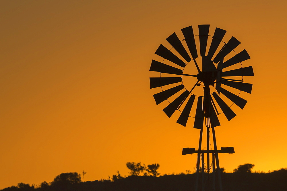 Wind pump, South Africa, Africa