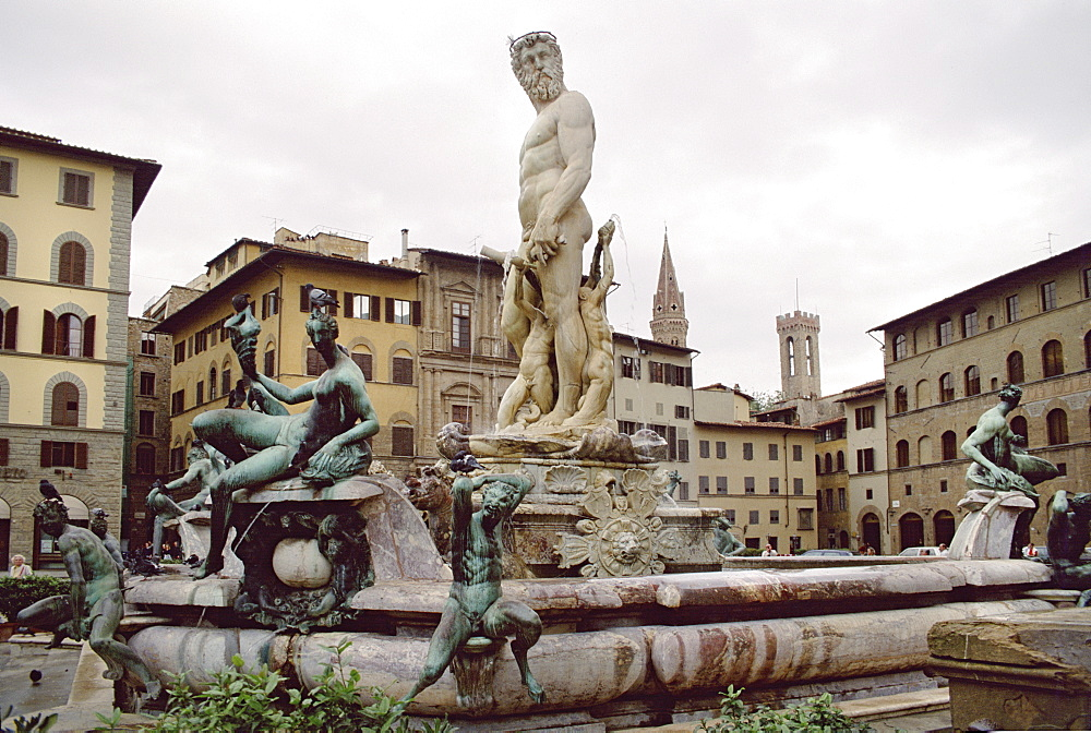 Piazza Palimento, Florence, Tuscany, Italy, Europe - 745-100