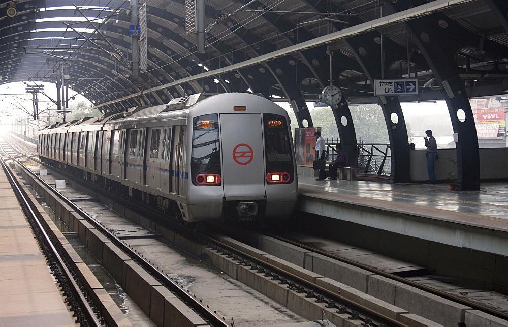 Delhi Metro, India, Asia - 745-108
