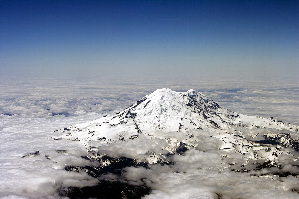 Mount Ranier, Washington state, United States of America, North America - 745-115