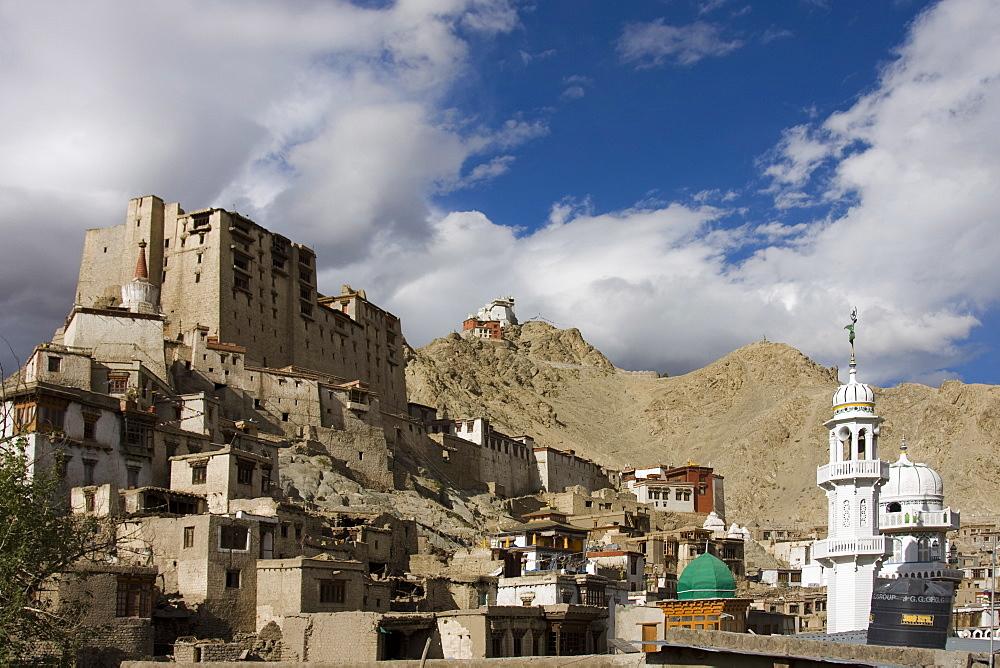 Leh Palace, Leh, Ladakh, India, Asia - 745-117
