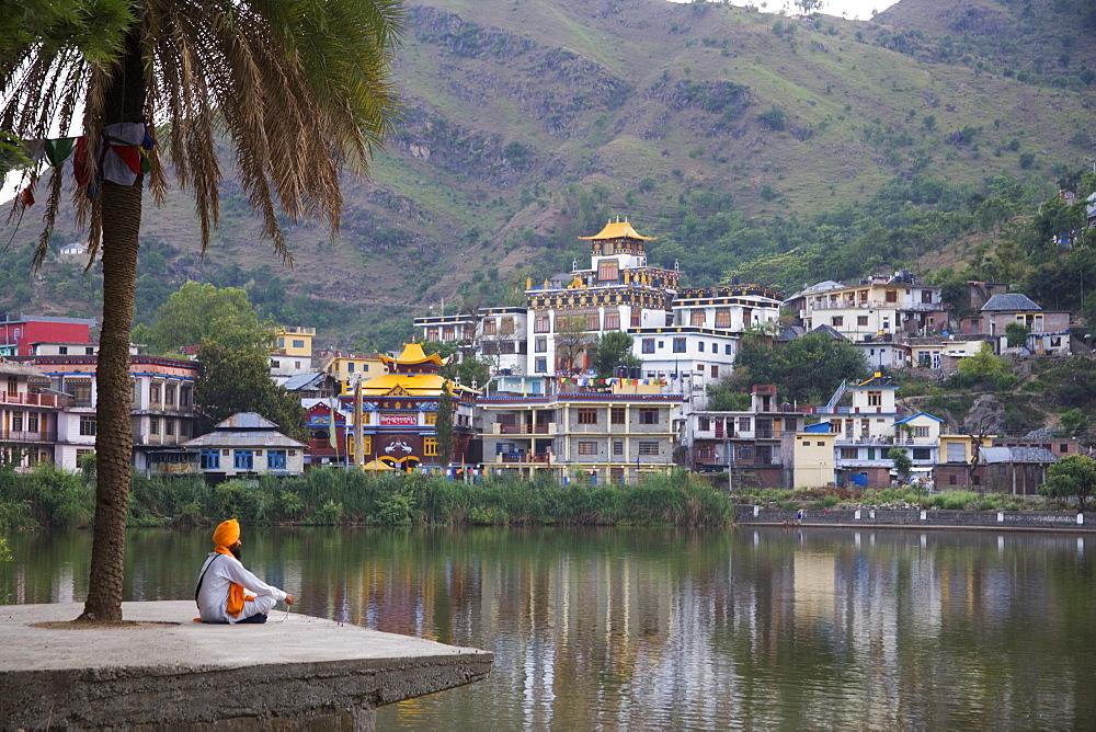 Sadhu,Tso Pema, Himachal Pradesh, India, Asia - 745-76