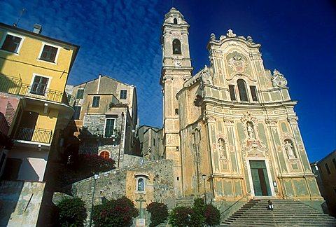 Cathedral, Cervo Ligure, Liguria, Italy