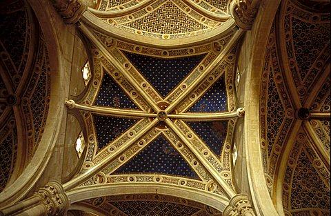 Interior of Certosa, Pavia, Lombardy, Italy