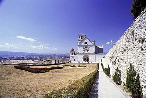 Basilica Superiore, Assisi, Umbria, Italy