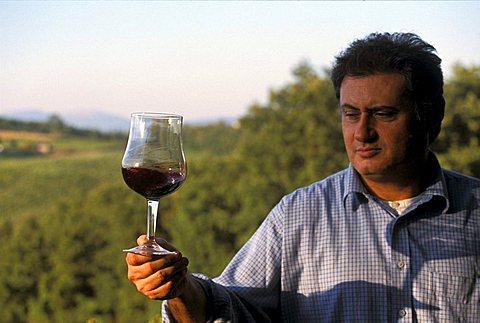Goretti winery, Pila, Umbria, Italy