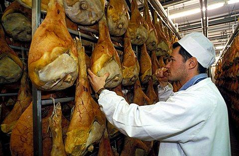 Prosciuttificio San Daniele, San Daniele, Friuli Venezia Giulia, Italy.