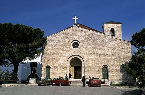Santa Maria del Monte church, Campobasso, Molise, Italy.