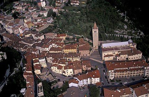 Cityscape, Gemona del Friuli, Friuli Venezia Giulia, Italy