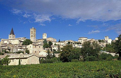 City view, Spello, Umbria, Italy