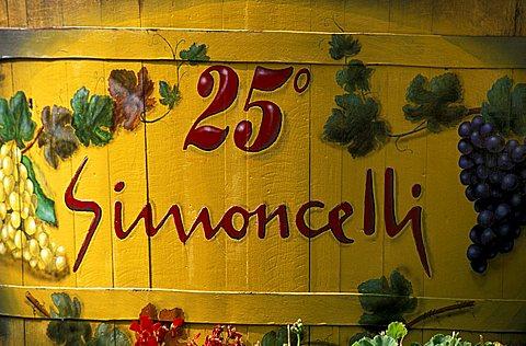 Simoncelli cellar, Rovereto, Trentino, Italy