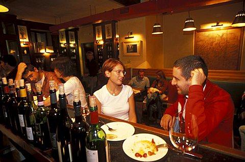 Osteria del Pettirosso restaurant, Rovereto, Trentino, Italy