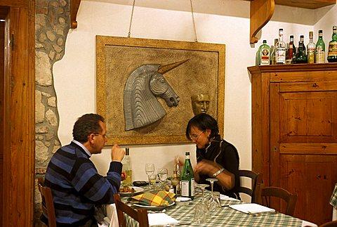 San Basilio restaurant, Verona, Veneto, Italy.