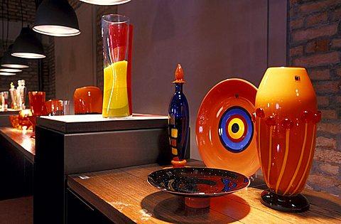 Murano Collezioni show room, Murano, Veneto, Italy