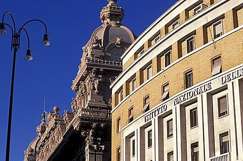 Dante street, Genoa, Ligury, Italy