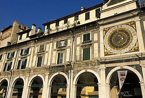 Particular, Piazza della Loggia, Brescia, Lombardy, Italy