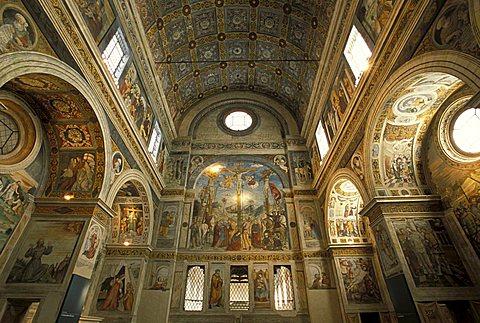 Chorus of Nuns, Santa Giulia monastery, Brescia, Lombardy, Italy