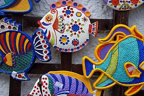 Souvenir ceramics, Isola Del Giglio, Toscana, Tuscany, Italy