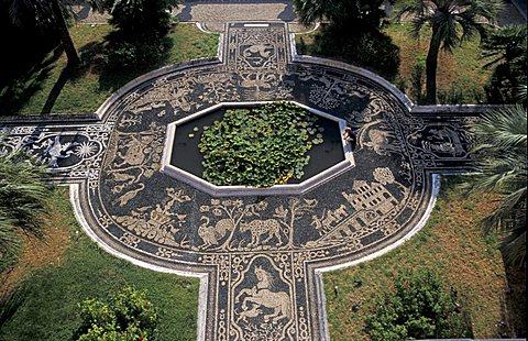Palazzo Reale garden, Genoa, Liguria, Italy