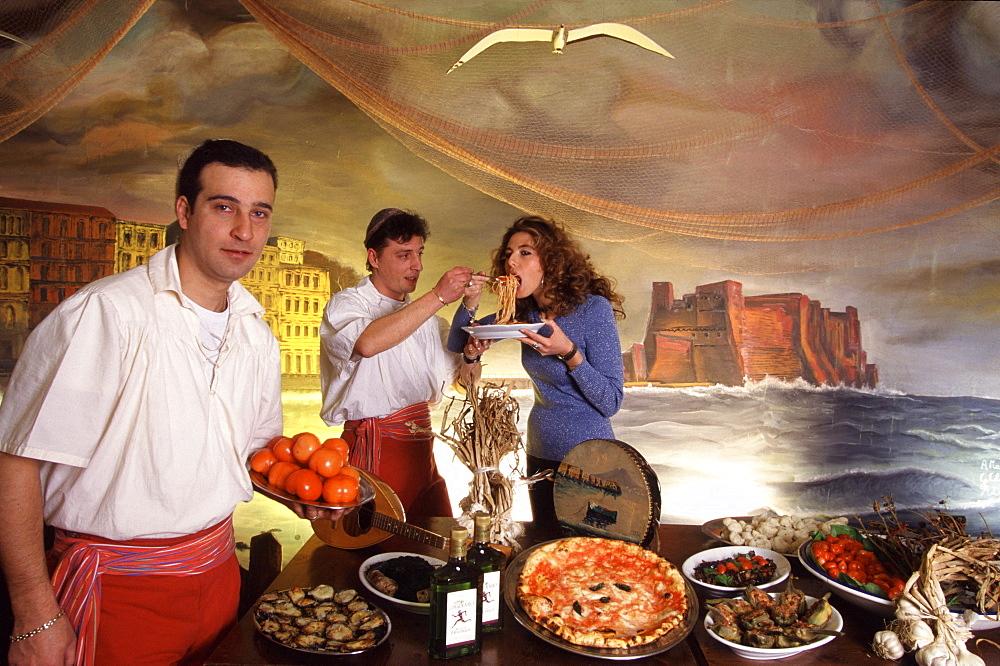 Naples, Campania, Italy: neapolitan scene