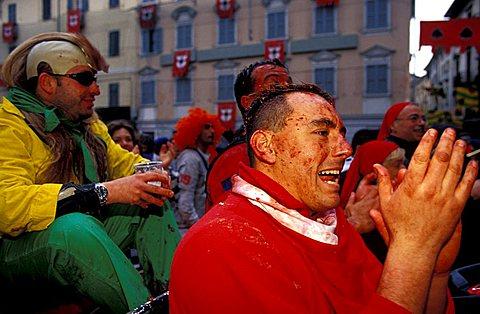 People, Ivrea, Piedmont, Italy