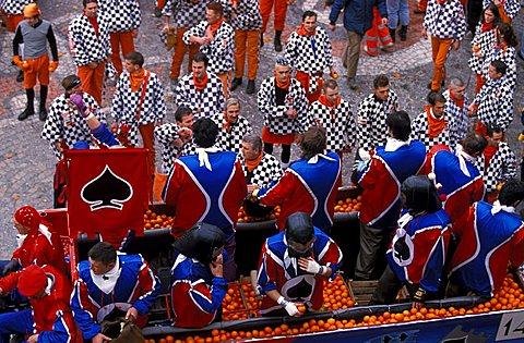 The Parade, Ivrea, Piemonte, Italy