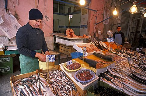 Ballarò market, Palermo, Sicily, Italy