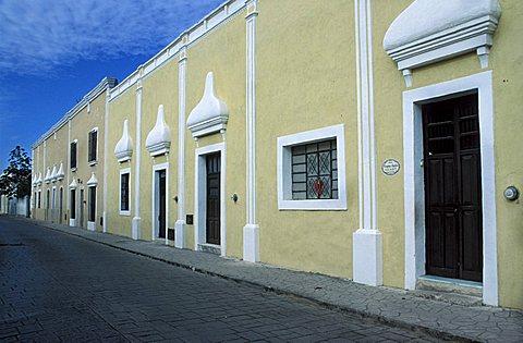 Calle 41a, Valladolid, Yucatan, Mexico, Central America