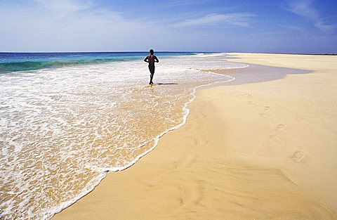 Veradinha Bay, Boa Vista, Cape Verde Islands, Africa