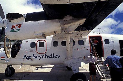 Airport, Mahé island, Seychelles, Indian Ocean, Africa