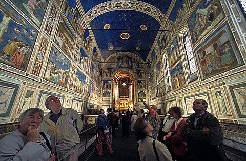 Giotto Chapel, Cappella degli Scrovegni, Veneto, Italy