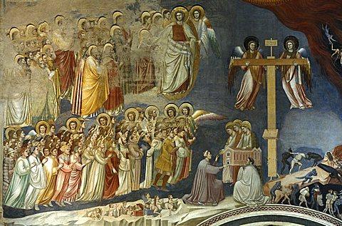 Giotto Chapel, Cappella degli Scrovegni, Padua, Veneto, Italy
