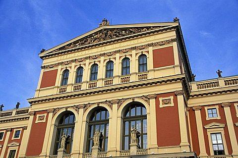Musikverein opera house, Vienna, Austria, Europe