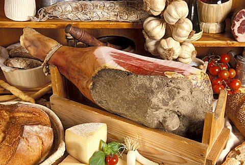 Parma ham, Italy