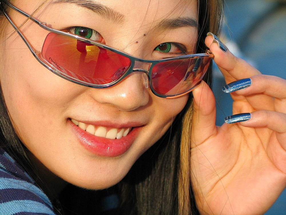 Girl, Shanghai, China, Asia  - 746-35904
