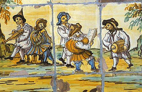 Rural concert, Chiostro delle Clarisse, Naples, Campania, Italy