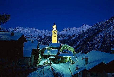 Antagnod, Val d'Ayas, Valle d'Aosta, Italy