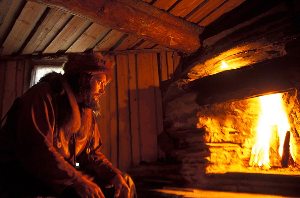 Veikko Sitonen shaman, Nulituinen, Lappland, Finland, Europe