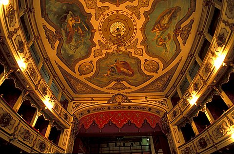 Teatro Verdi, Busseto, Parma, Emilia-Romagna, Italy