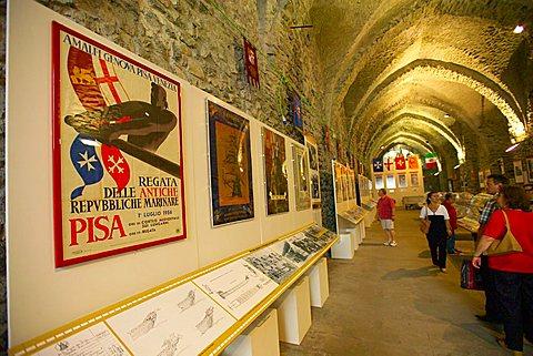 Repubbliche Marinare arsenal museum,  Amalfi,  Campania, Italy