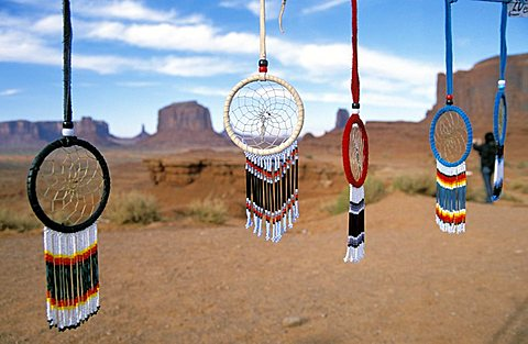 Dreamcatchers, Monument Valley, Arizona, United States of America, North America